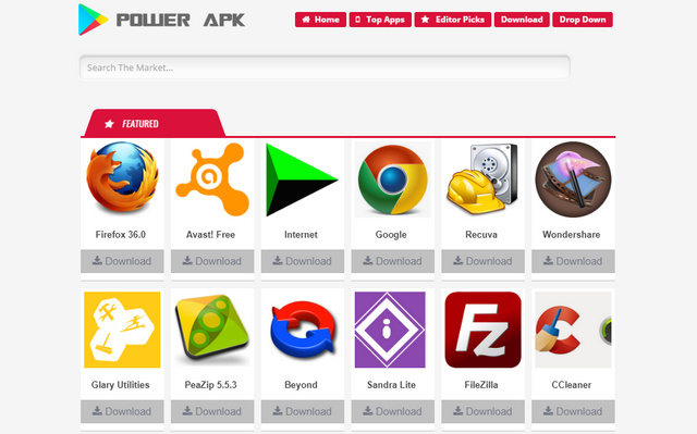 Power APK Responsive Blogger Templates
