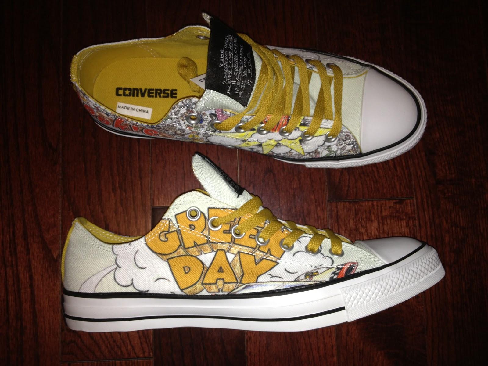 2cb87b68dd82 Virgil s Blog  Converse Chuck Taylor Lows x Green Day x Dookie