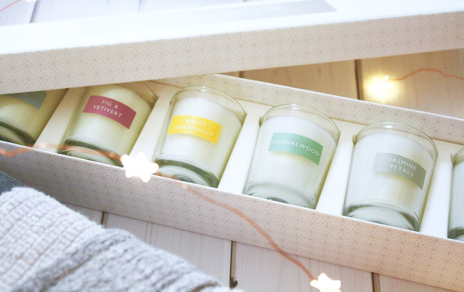John Lewis Scented Votive Candles