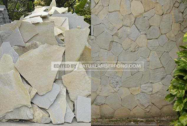 batu alam acak templek di jakarata