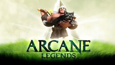 Game RPG Arcane Legends