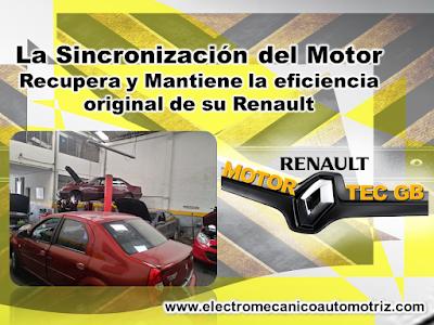 Sincronizacion Renault Motortec GB