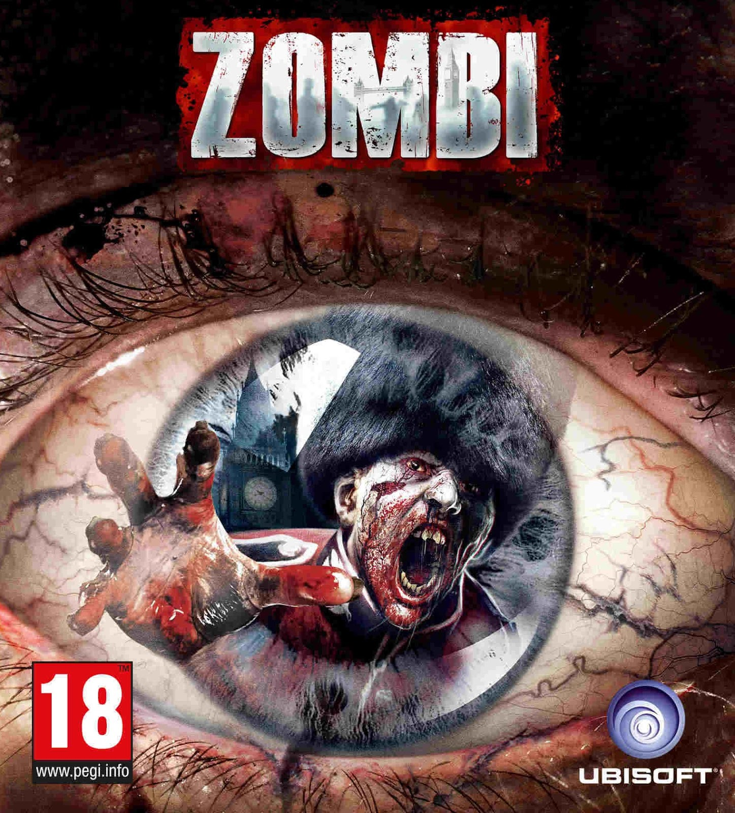 ZOMBI ESPAÑOL PC Full Cover Caratula