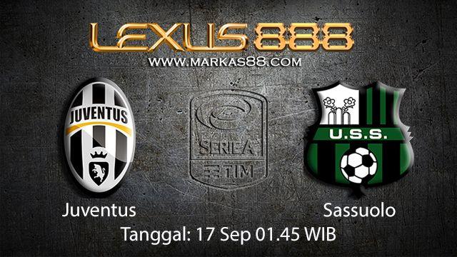 Prediksi Bola Jitu Juventus vs Sassuolo 17 September 2018 ( Italian Serie A )