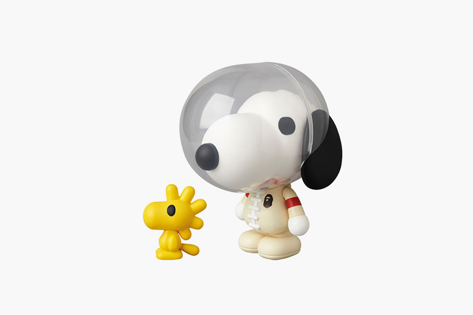 f0535657 Medicom Toy x A Bathing Ape x Snoopy & Woodstock