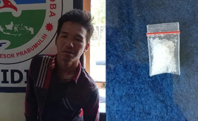 Tukang Ojek Di Tangakp Polisi Di Duga Nyambi Jual Shabu