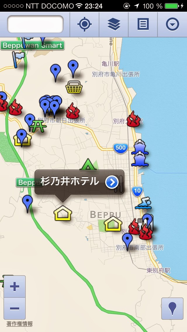 My Maps Editor iPhone