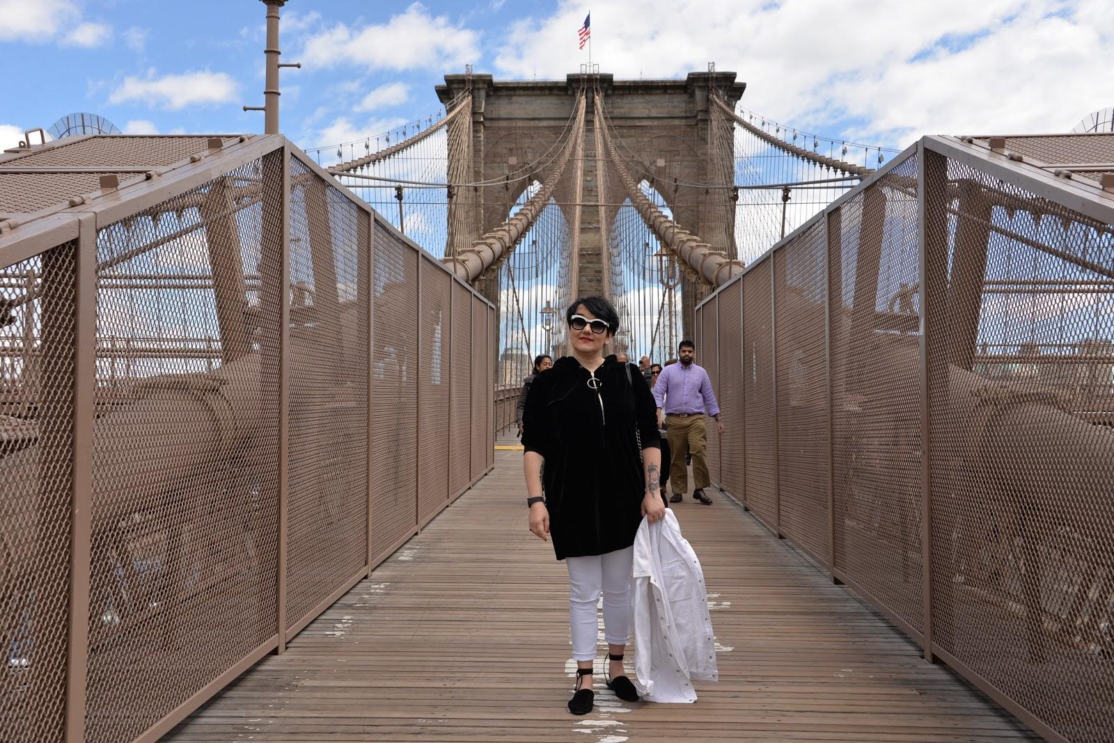 Brooklyn Bridge, New York, Fashion blogger in NYC, Polish blogger in New York