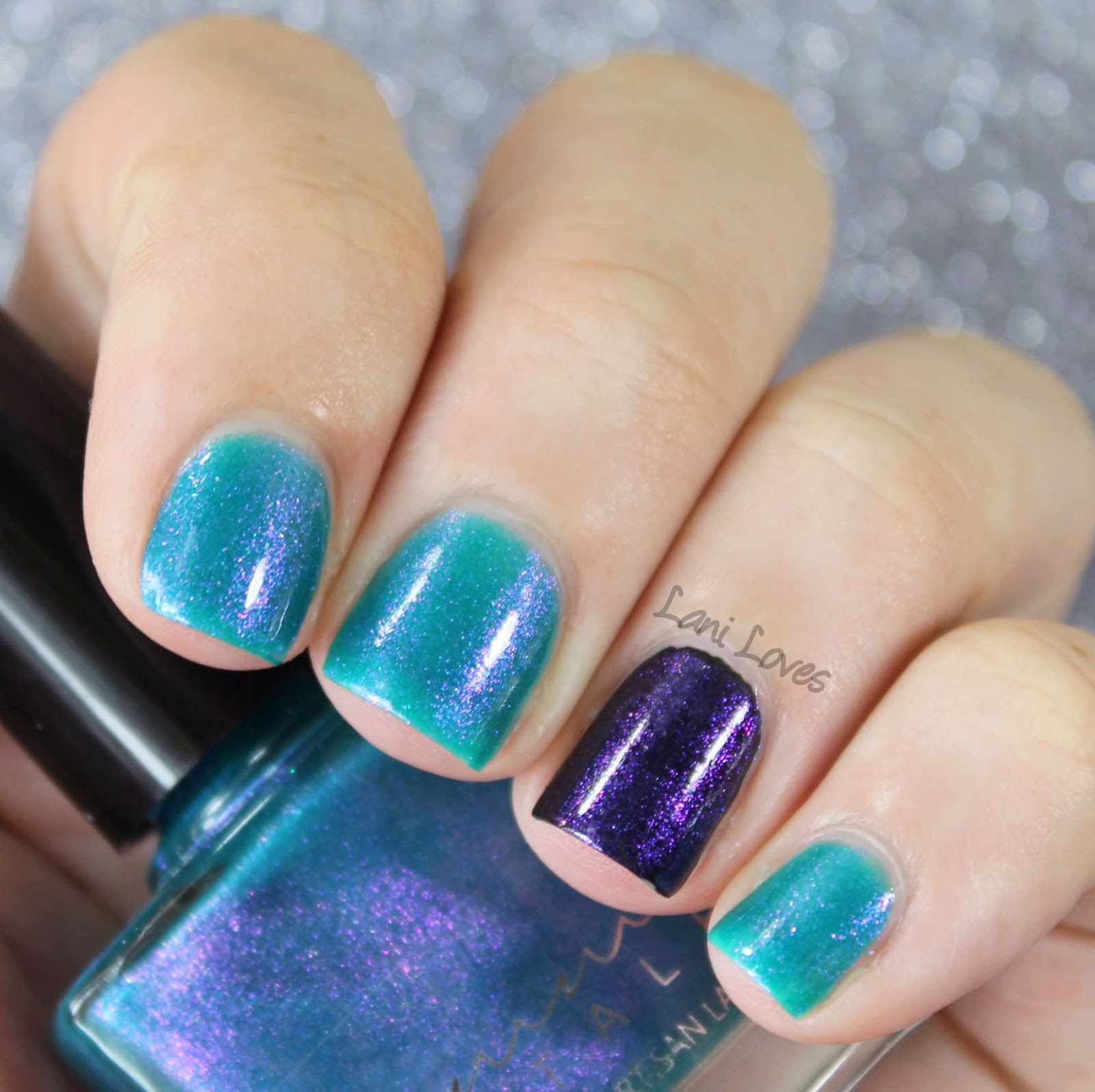 Femme Fatale Cosmetics - Weed in Her Heart nail polish swatches & review