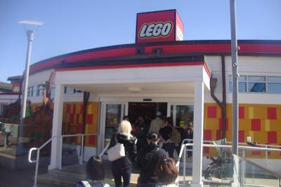 Loja da Lego em Disney Springs