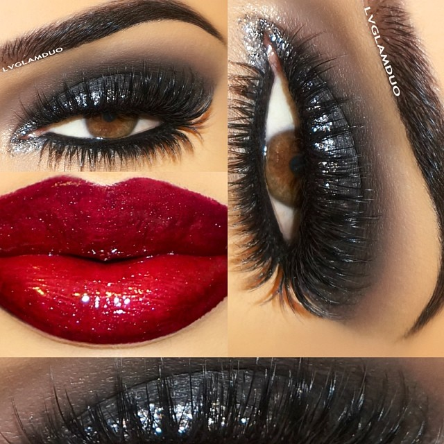 PERFECT CLUB MAKEUP LOOKS FEATURING SEXY SMOKEY EYES