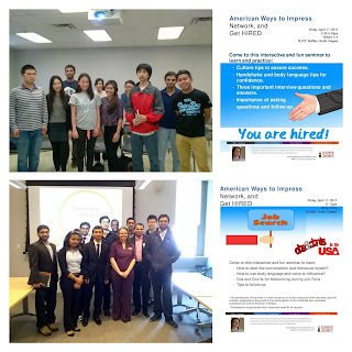 International Student Career Workshops at SUNY Buffalo