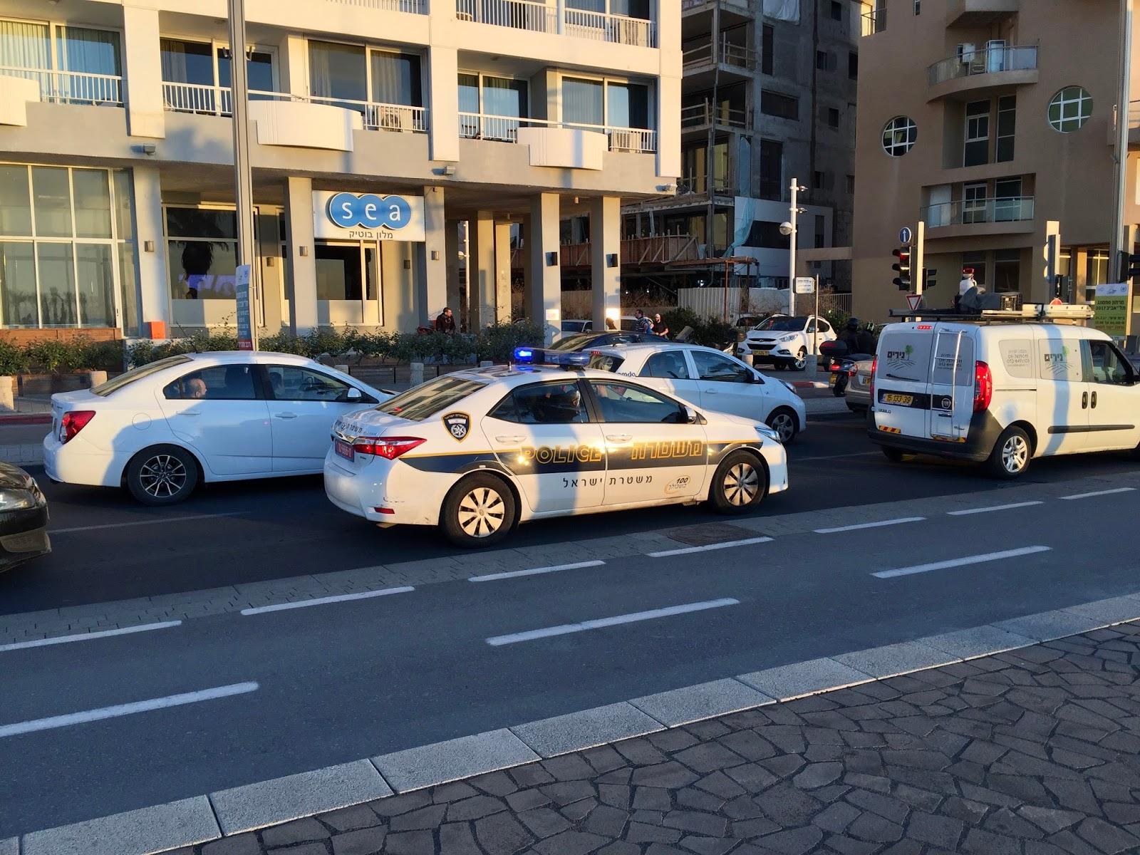 Policie v Tel Avivu