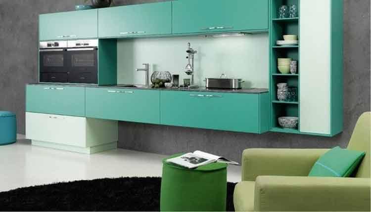 25 Minimalist Kitchen Set Aluminium Model Home Design