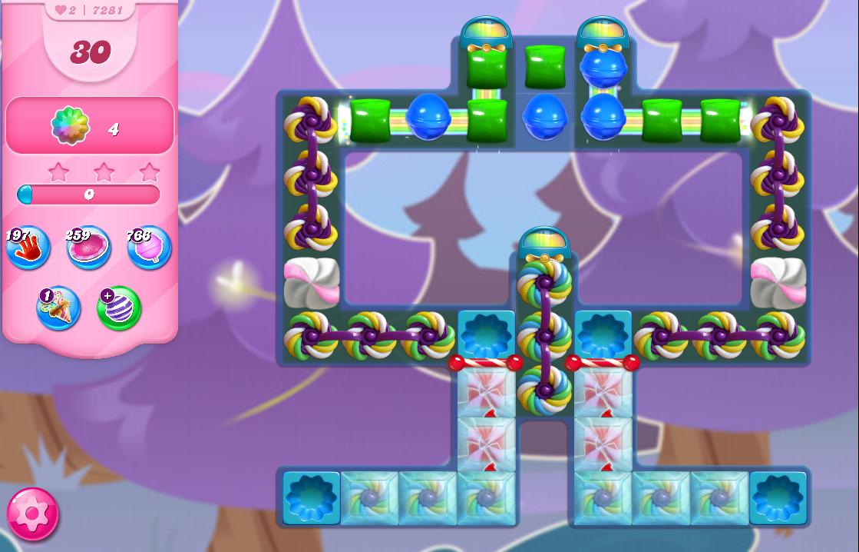 Candy Crush Saga level 7281