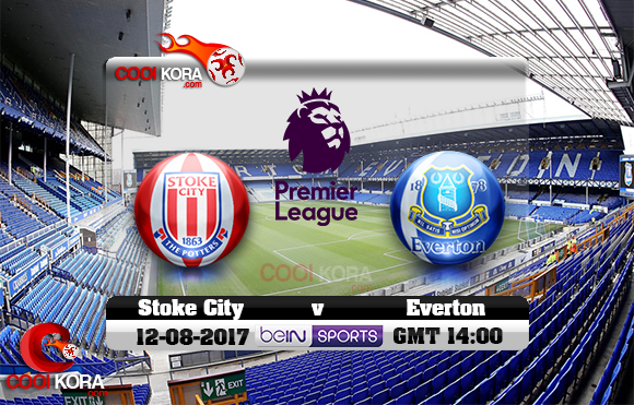 مشاهدة مباراة إيفرتون وستوك سيتي اليوم 12-8-2017 في الدوري الإنجليزي