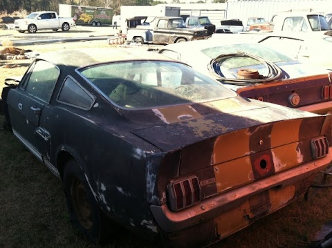 Barn Find: 1966 Shelby GT350