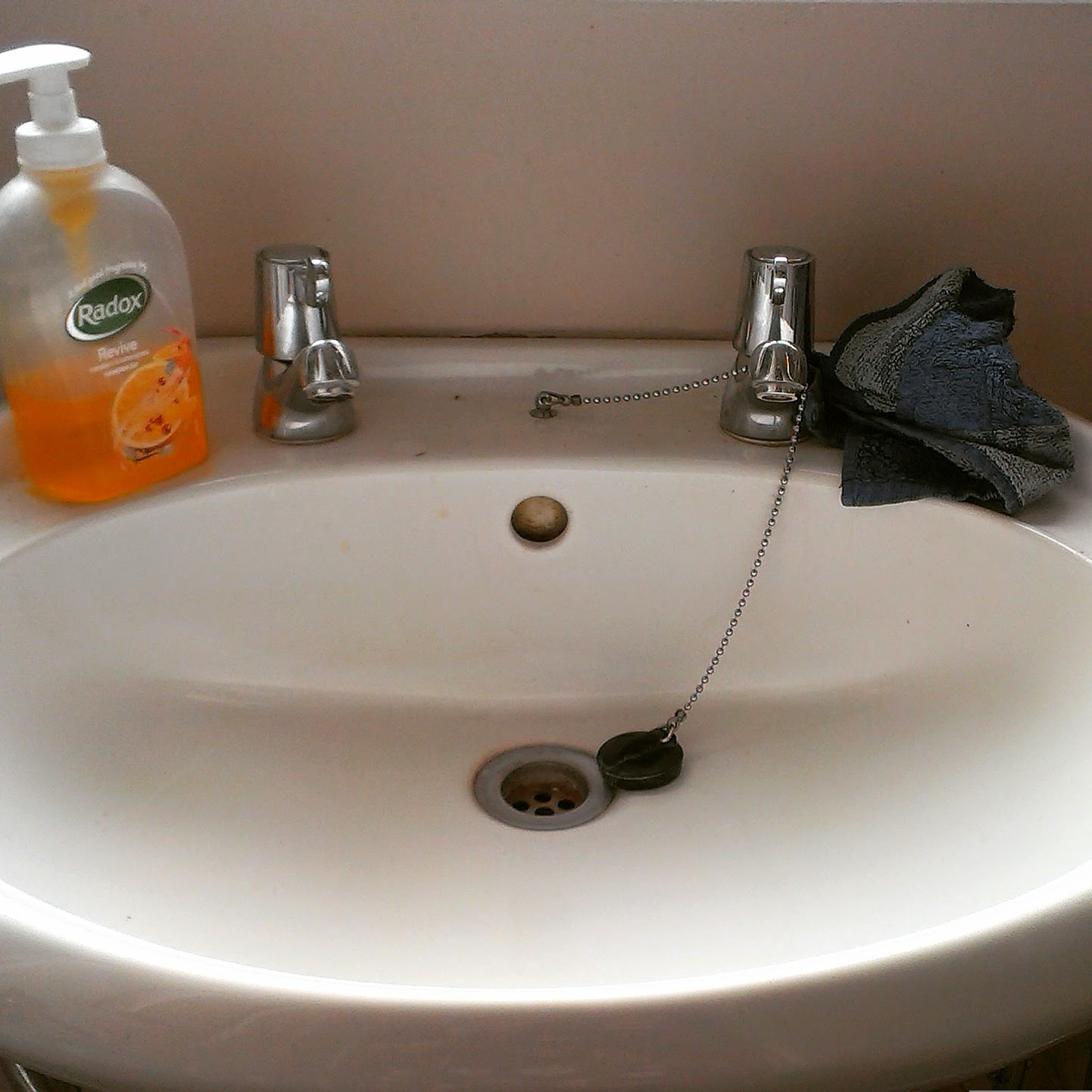 2pm - bathroom cleaning