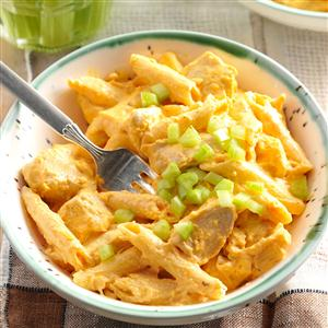RecipeReview Buffalo Chicken Pasta