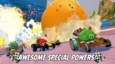 Angry Birds Go! v2.5.5 Mod Apk (Unlimited Money)