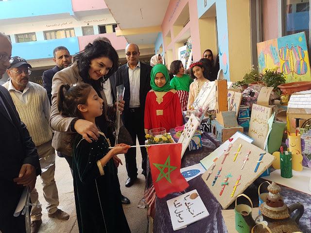 المؤسسات التعليمية بمديرية عين الشق تحتفل بالأسبوع الوطني للتعاون المدرسي