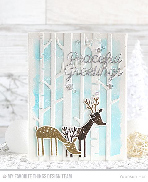 Handmade card from Yoonsun Hur featuring products from My Favorite Things #mftstamps