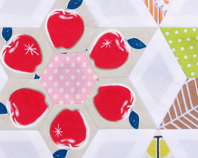 The Daisy Chain Quilt - Part 5 A Finished Quilt Top | Red Pepper Quilts 2016