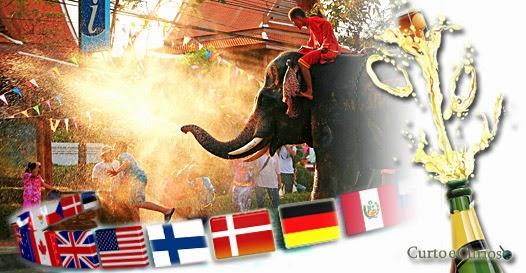 Ano Novo ao redor do mundo - Festas exóticas