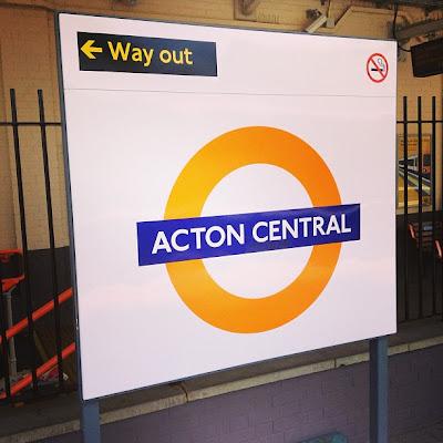 Acton Central Station, London, UK