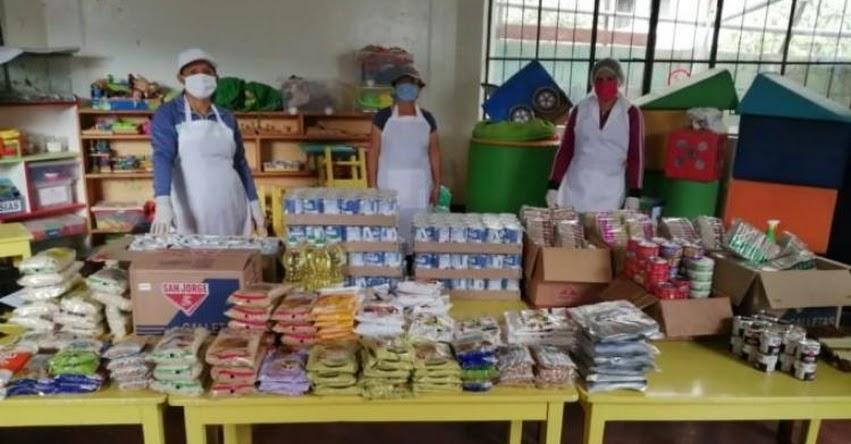 QALI WARMA: Programa social atiende con servicio alimentario a cerca de 13 mil escolares de 171 comunidades nativas en Pasco durante emergencia sanitaria - www.qaliwarma.gob.pe