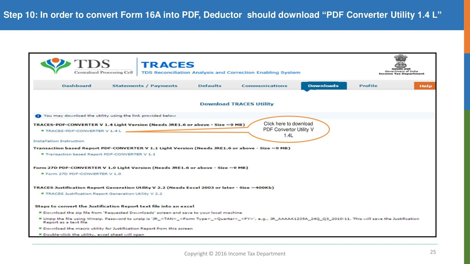 Download form 16A