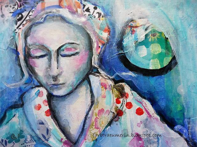 Keine-Zeit-zum-Malen-Acrylbild-Buddha