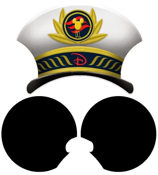 Captain Mickey Mouse Free Printable Hats With Ears Cute