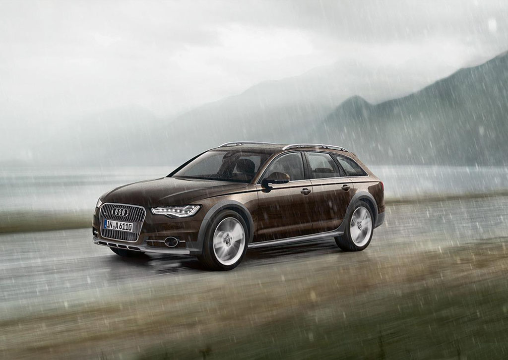 all new audi a6 allroad officially revealed. Black Bedroom Furniture Sets. Home Design Ideas