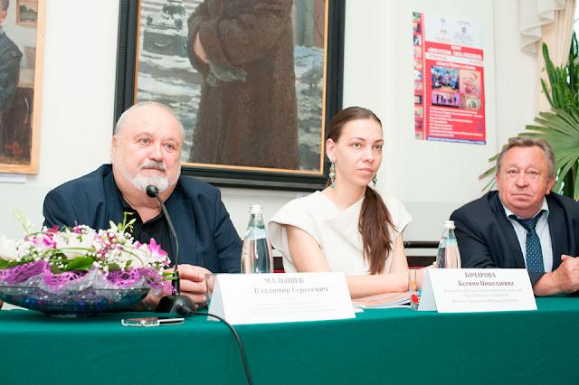 Намедни Сергиево-Посадкий филиал ВГИК посетил ректор этого прославленного киновуза Владимир Малышев.