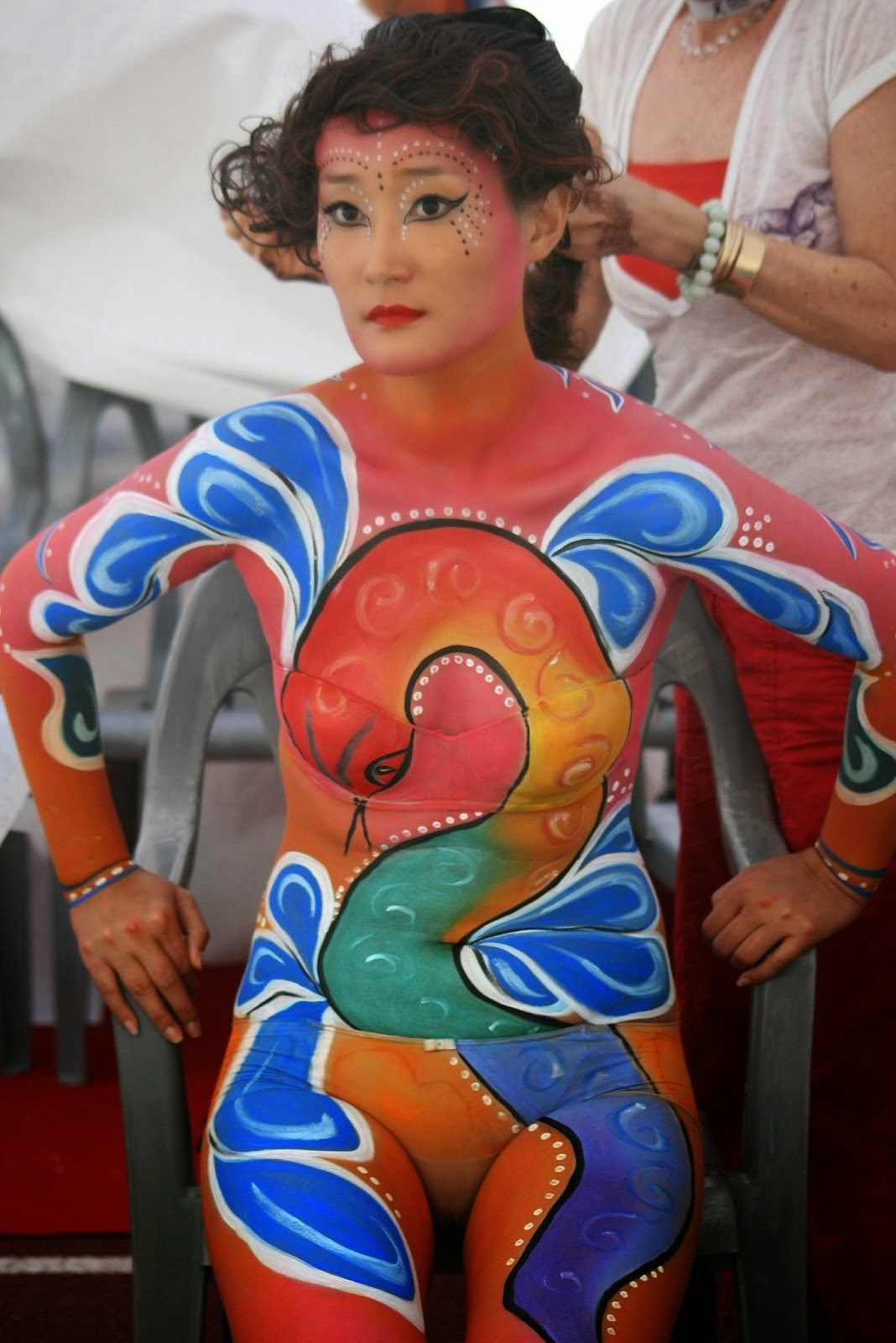 Art And Craft Projects Easy Body Painting Ideas Women