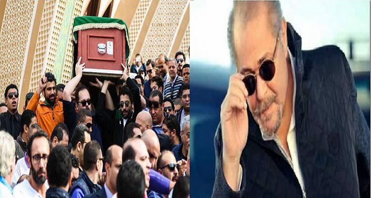 5 صور غريبة جدا تم التقاطها البارحة بجنازة محمود عبد العزيز صدمت الجميع