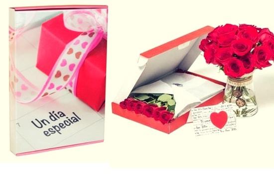 cajas para flores automontables