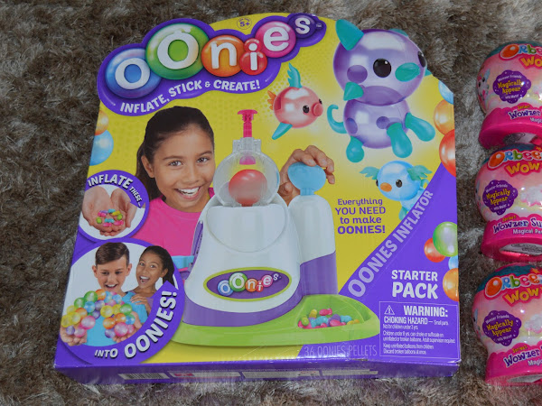 Review | Oonies Inflator Starter Pack and Orbeez Wowzer Surprise