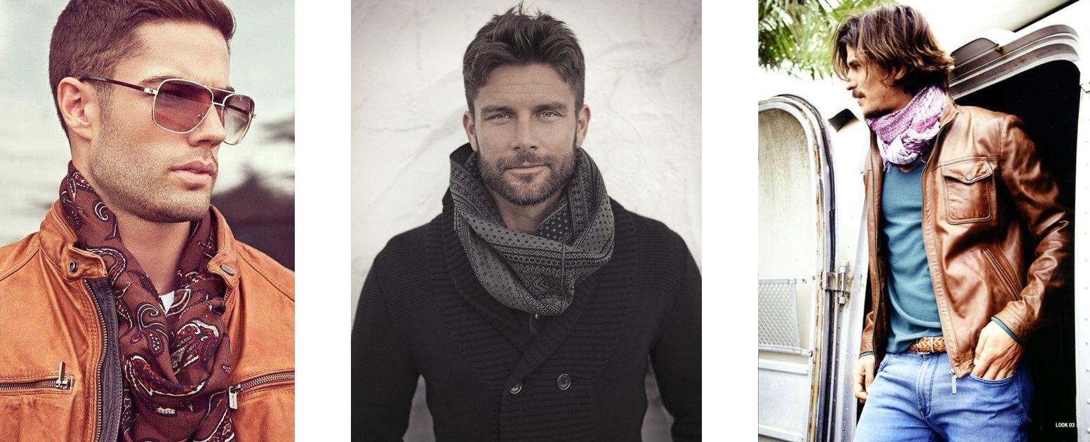 A Ravioli: Como usar um lenço Masculino?