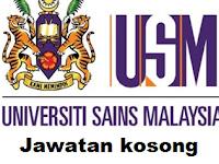 Jawatan kosong Universiti Sains Malaysia (USM) TT 08 SEPT 2017