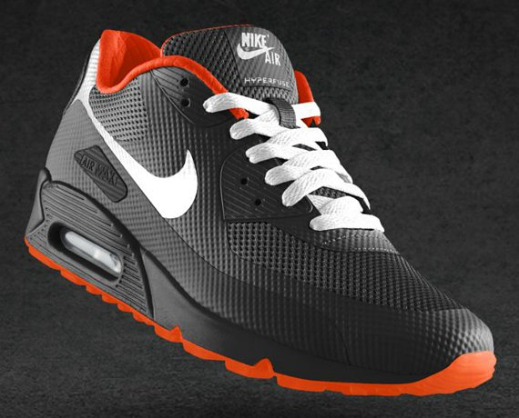 FreshKoast: NIKEiD Air Max 90 Hyperfuse Design Options