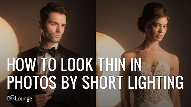 How to Look Thinner in Photos by Short Lighting