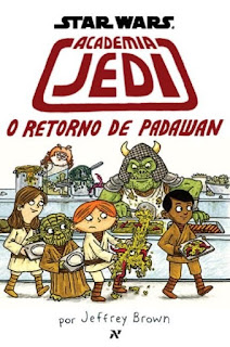 Star Wars Academia Jedi O Retorno de Padawan Jeffrey Brown
