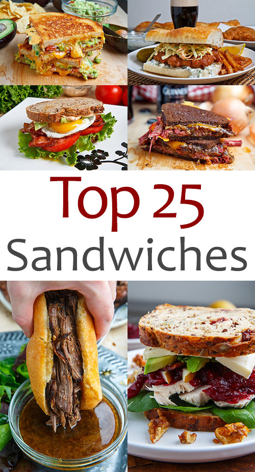 Top 25 Sandwich Recipes