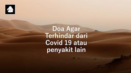 Doa agar terhindar dari Covid-19 / Virus Corona