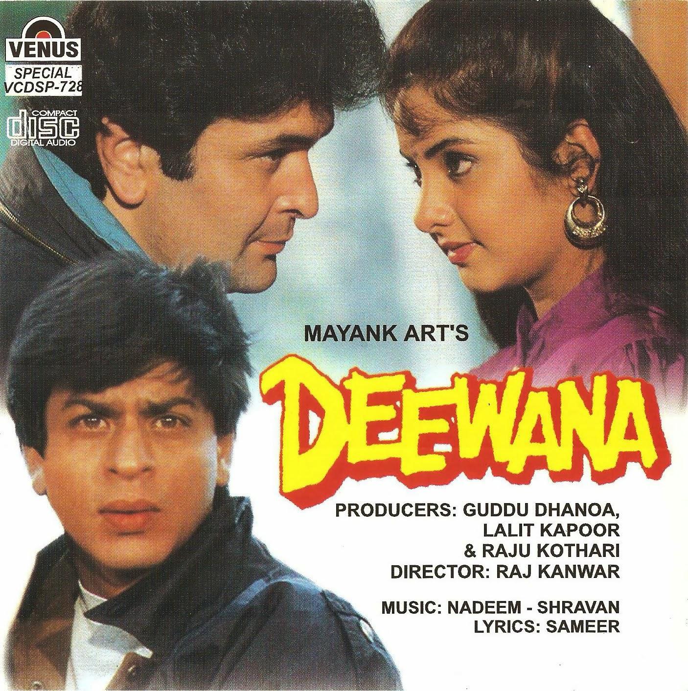 Deewana (1992) ταινιες online seires oipeirates greek subs
