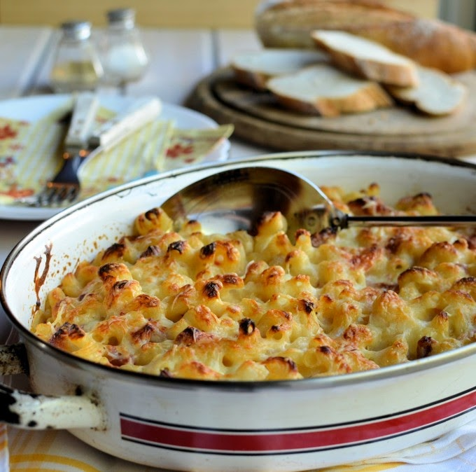 Featured Recipe | Macaroni & Cheese with Bacon & Tomatoes from Lavender & Lovage #SecretRecipeClub #recipe