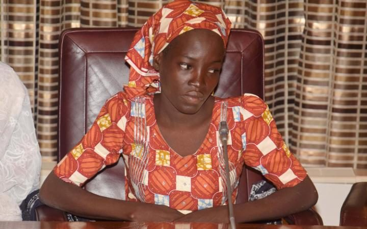 Nigerian Chibok teen rescued