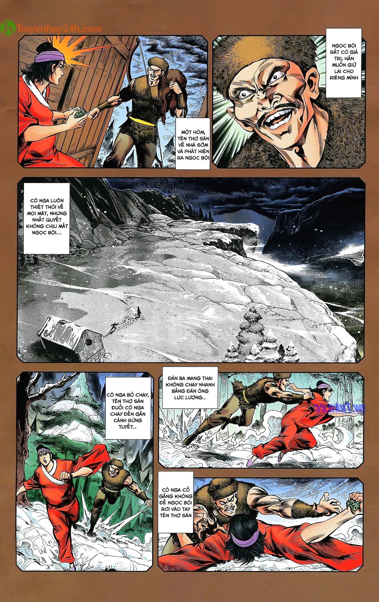 Tần Vương Doanh Chính chapter 29.2 trang 9